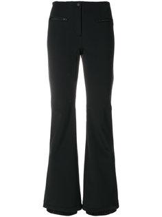 расклешенные брюки с контрастной оторочкой Fendi