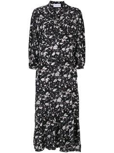 платье с чайными листьями Christian Wijnants