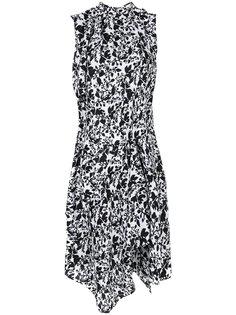 асимметричное платье Christian Wijnants