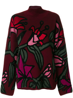 свитер lily с вышивкой Christian Wijnants