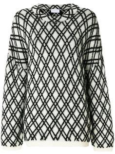 свитер Kvasa с вышивкой Christian Wijnants