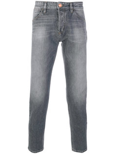 джинсы прямого кроя Pt05