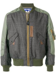 куртка-бомбер на молнии Junya Watanabe Comme Des Garçons Man