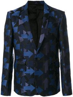 блейзер с вышивкой Les Hommes