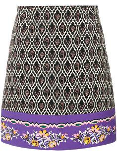 юбка с вышивкой  Vivetta