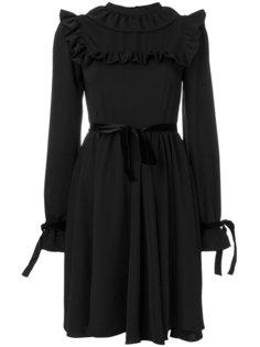 плиссированное платье шифт  Vivetta