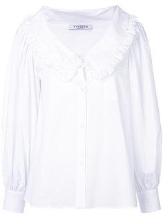 блузка шифт с воротником  Vivetta