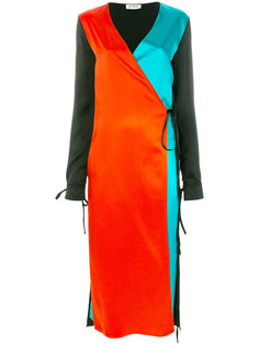 платье колор блок  Attico