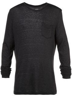 футболка с нагрудным карманом Osklen