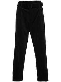 классические брюки с поясом Osklen