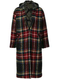 пальто в клетку  Forte Couture