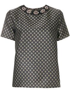декорированная жаккардовая блузка Etro