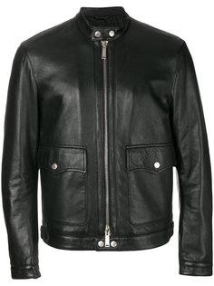 укороченная куртка на молнии Dsquared2