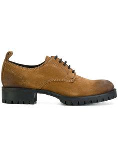 туфли на утолщенной подошве Dsquared2