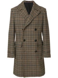 пальто в ломаную клетку The Gigi