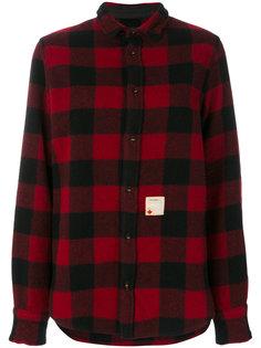 куртка-рубашка в клетку  Dsquared2