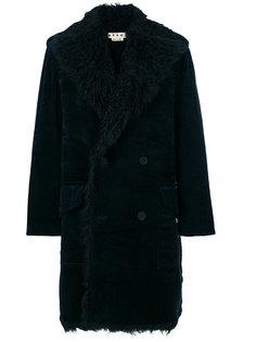 вельветовое пальто Marni