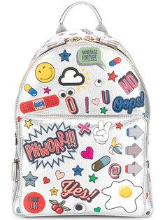 мини-рюкзак All Over Sticker Anya Hindmarch