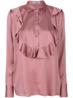 блузка с оборкой  Valentino
