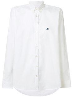 рубашка с тональной вышивкой Etro
