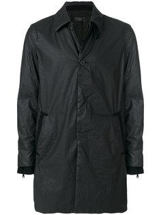 текстурированное однобортное пальто Transit