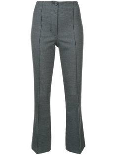 классические брюки с завышенной талией  Helmut Lang
