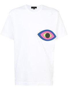 футболка с аппликацией глаза Comme Des Garçons Homme Plus
