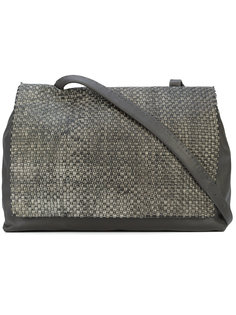 structured square tote bag Henry Beguelin