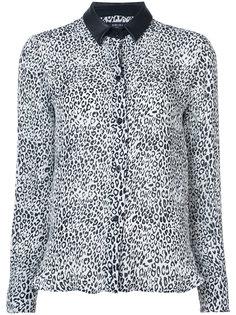 рубашка с леопардовым принтом Amiri