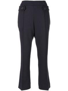 брюки с завышенной талией Prada
