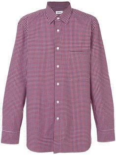 клетчатая рубашка Brioni