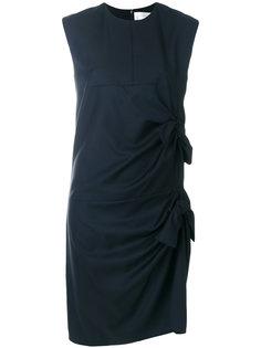 платье с деталью со сборкой и бантом Victoria Victoria Beckham