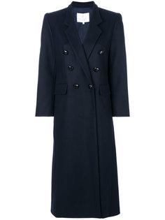 пальто строгого кроя в стиле милитари Carolina Ritzler