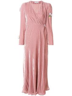 платье с запахом Vivetta