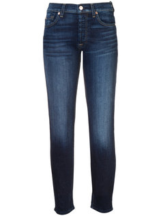 джинсы с подвернутыми манжетами 7 For All Mankind