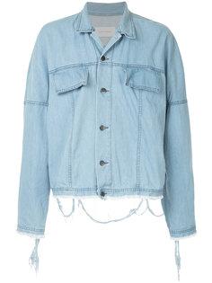 свободная джинсовая рубашка Strateas Carlucci