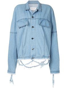 джинсовая куртка мешковатого кроя Strateas Carlucci