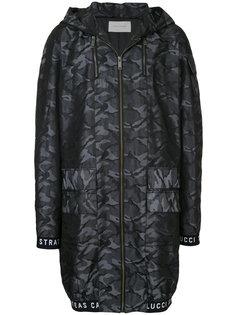 куртка-бомбер с камуфляжным узором Strateas Carlucci