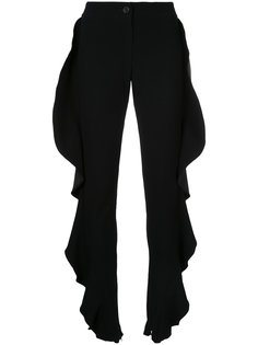 брюки с рюшами Strateas Carlucci