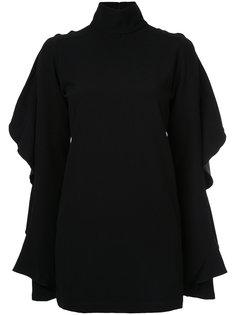 блузка с рюшами Strateas Carlucci