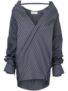 платье-рубашка в полоску Strateas Carlucci