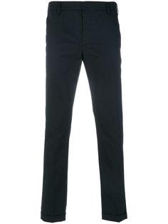брюки кроя слим Prada