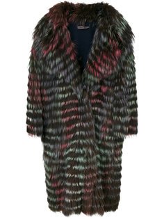 пальто Chiara из лисьего меха Simonetta Ravizza