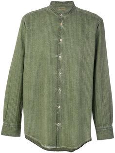 полосатая рубашка с акварельным эффектом Massimo Alba