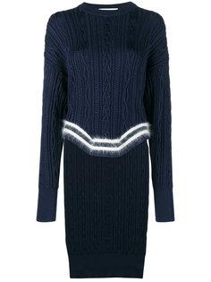 свитер с полосками и асимметричным краем  Esteban Cortazar