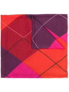 шарф с графическим принтом Stella McCartney
