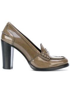 туфли-лоферы на каблуке Churchs