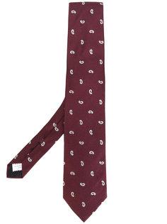 галстук с узором пейсли Lardini