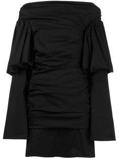 Cissy Strut Ruched Mini Dress  Ellery
