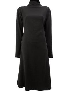 асимметричное платье с открытой спиной  Litkovskaya